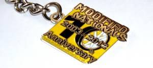 Modified Nationals 2012 - 10th Anniversary Keyrings