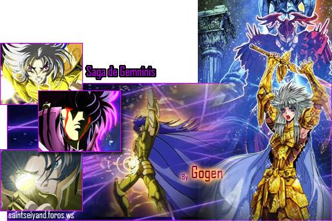 Gemini Saga v/s Thanatos Firmasagasuprema