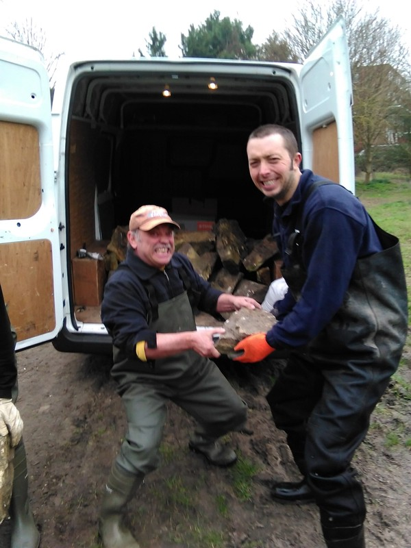 Hogsmill volunteers, A Job Well done :-) IMG_20150319_113132
