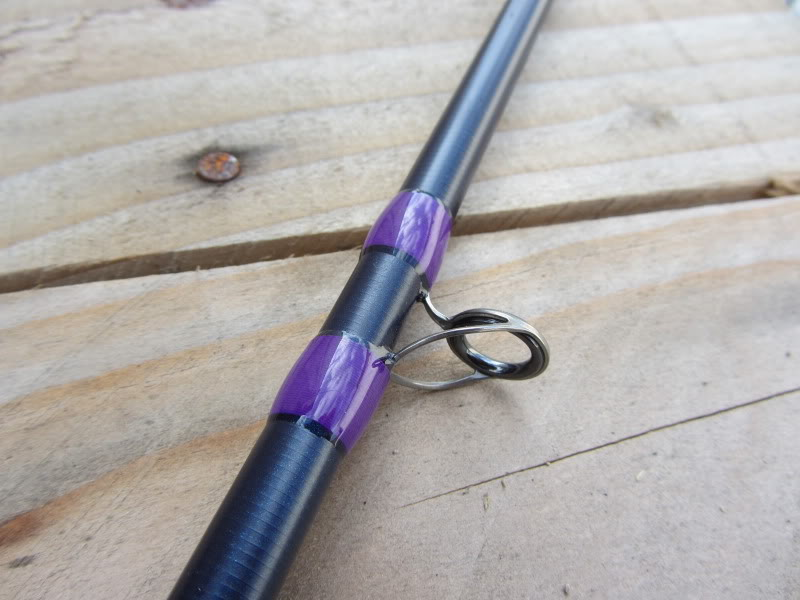 Restyling Daiwa Bass Titanium BST 701 HB  IMG_1035