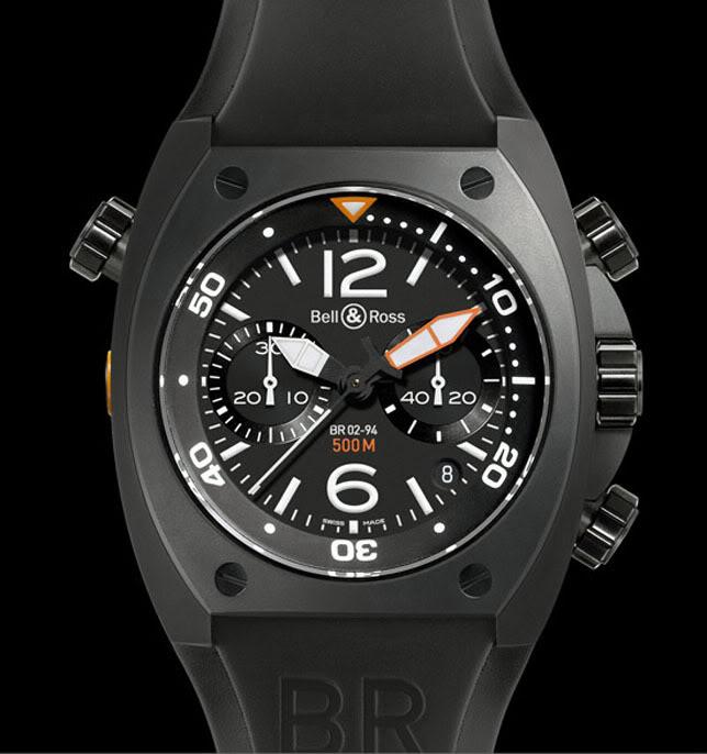 Nouveau chronographe Bell & Ros BR 02 02chrono