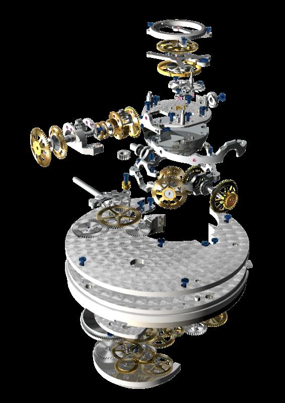 Tourbillon ZERO G : une révolution technologique du XXIème siècle 8800_01_01