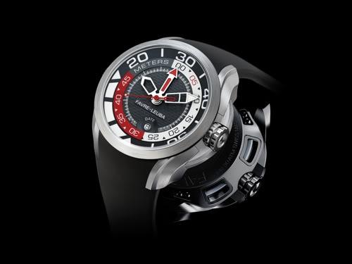 Favre Leuba réinvente les montres de plongée FavreLeubaBathy
