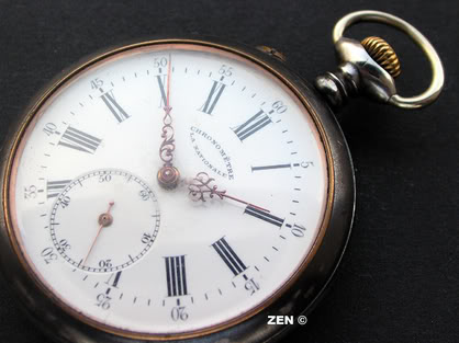 "Chronomètre ""La Nationale"" LaNationalecadran2"