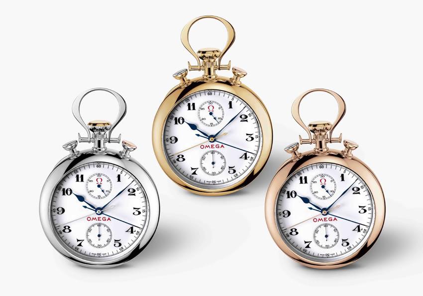 Si demain une grande marque sort une montre à gousset OmegachronoJO6