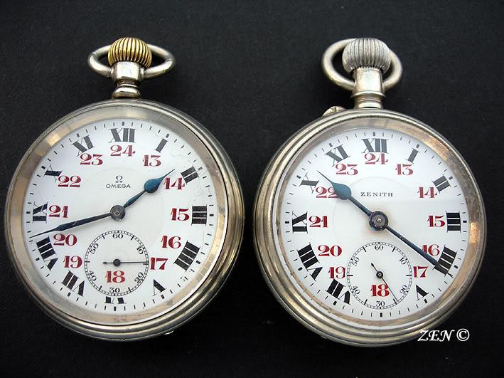L'histoire des montres de chemins de fers OmegaetZENITHcheminsdefersAutrichie