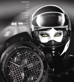 Avant Première Nouvelle Oris TT3 Chronographe Noir Oris20082