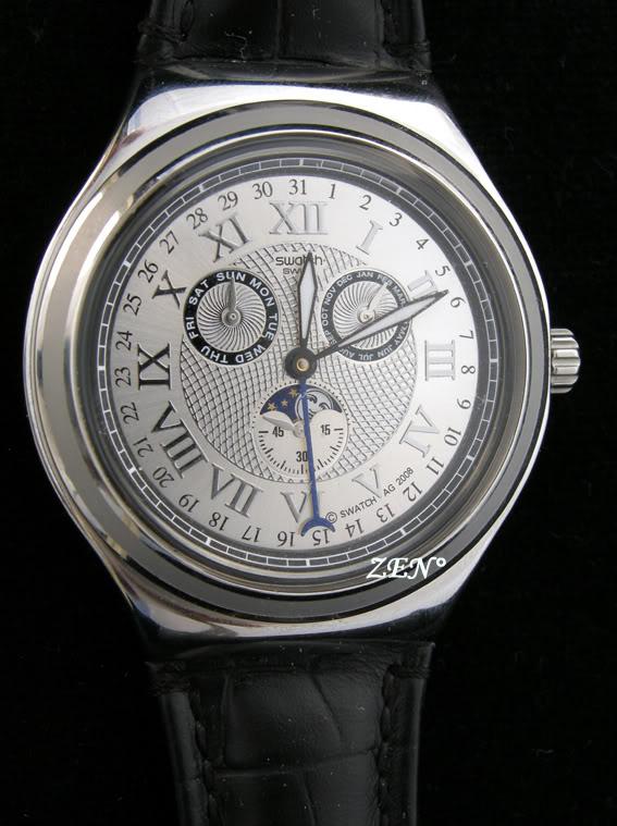 News : La toute nouvelle swatch à Phase de Lune SwatchLune2