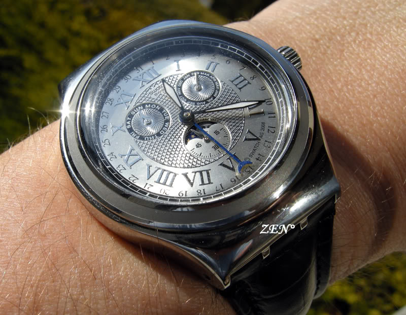News : La toute nouvelle swatch à Phase de Lune SwatchLune4