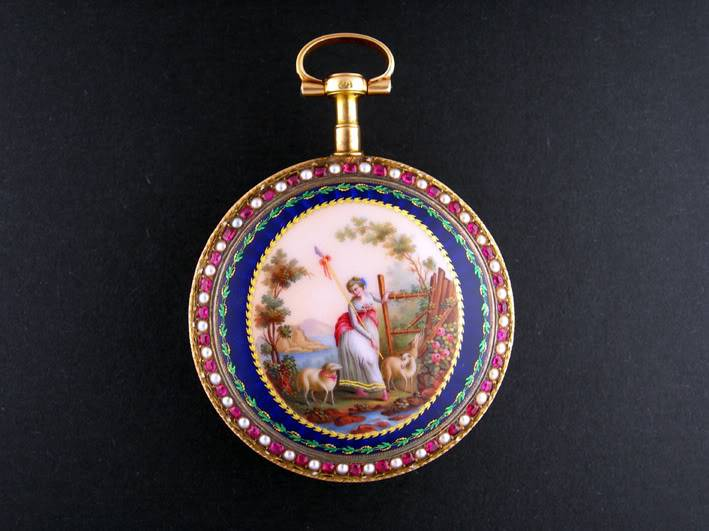 Avant première : une perle au musée du Locle ! JaquetDroz2fondmusedulocle