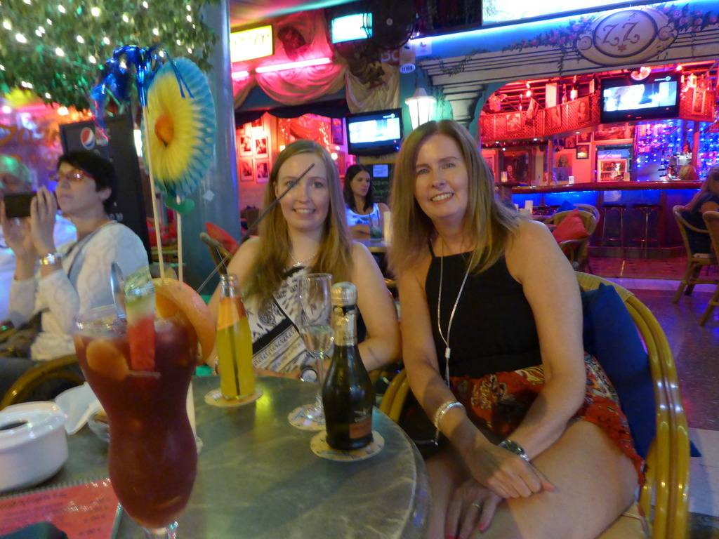 Canary Islands, Gran Canaria, Playa Del Ingles, Typical night out P1010315