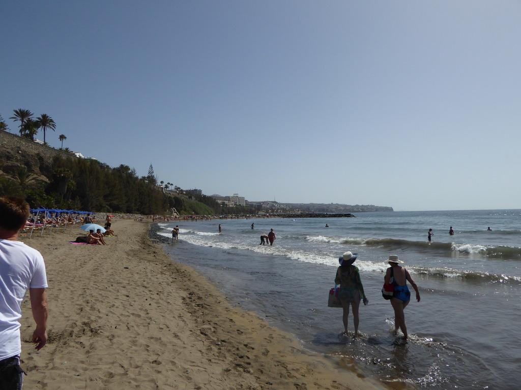 Canary Islands, Playa Del Ingles, Maspalomas  P1010319