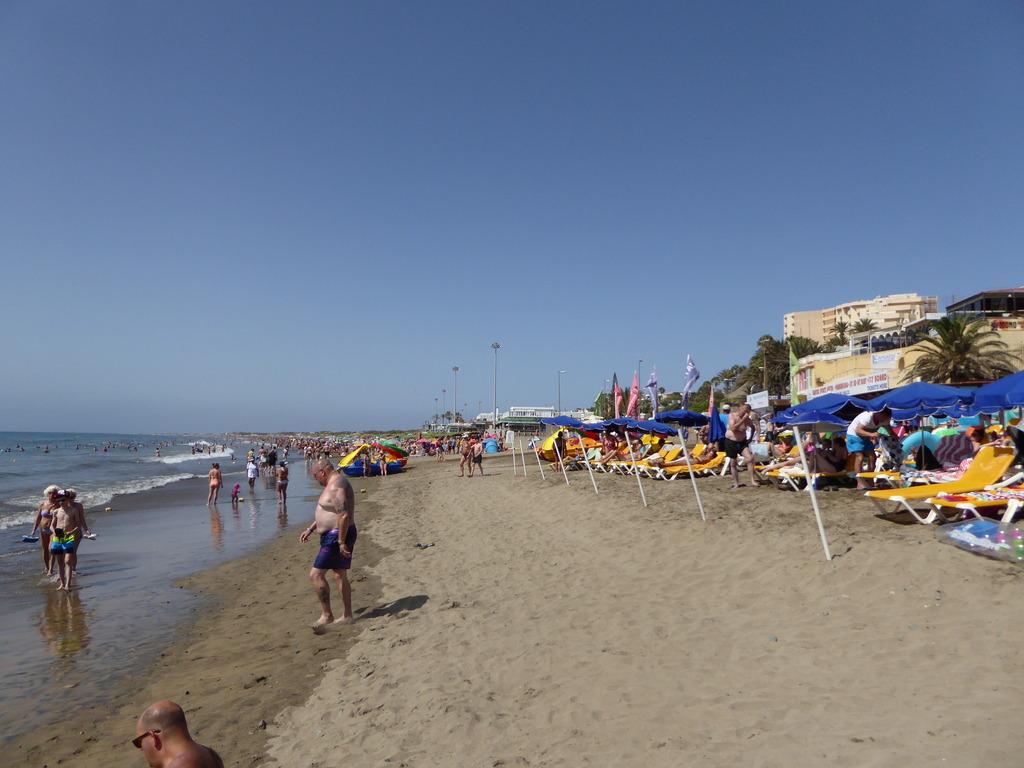 Canary Islands, Playa Del Ingles, Maspalomas  P1010320