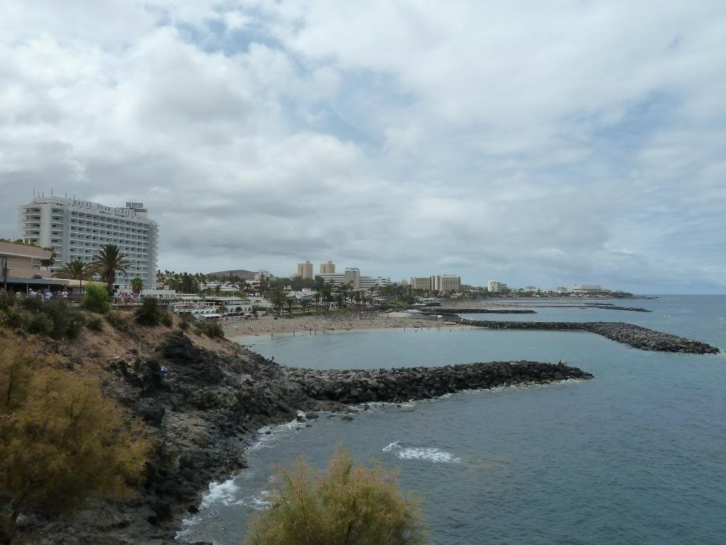 Canary Islands,Tenerife, A WALK THROUGH FROM LOS CRISTIANOS TO COSTA ADEJE P1090825