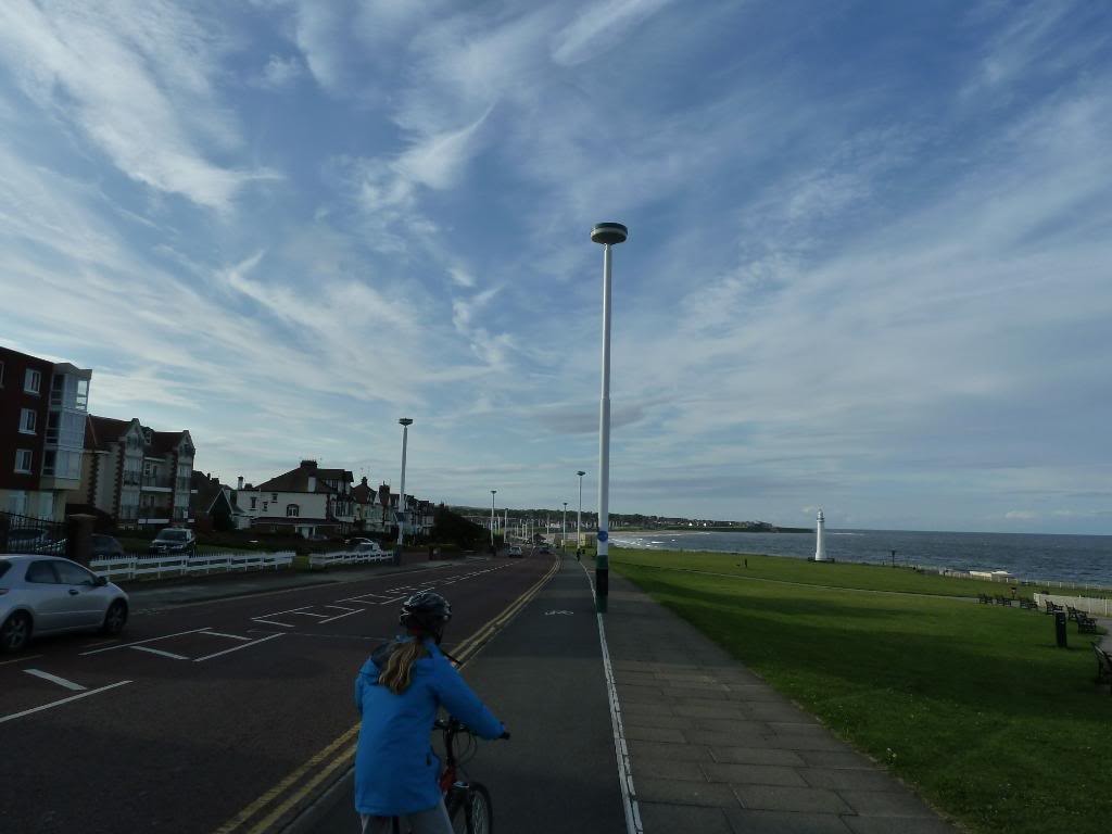 Whitburn, Seaburn and Roker coastal route. P1090650