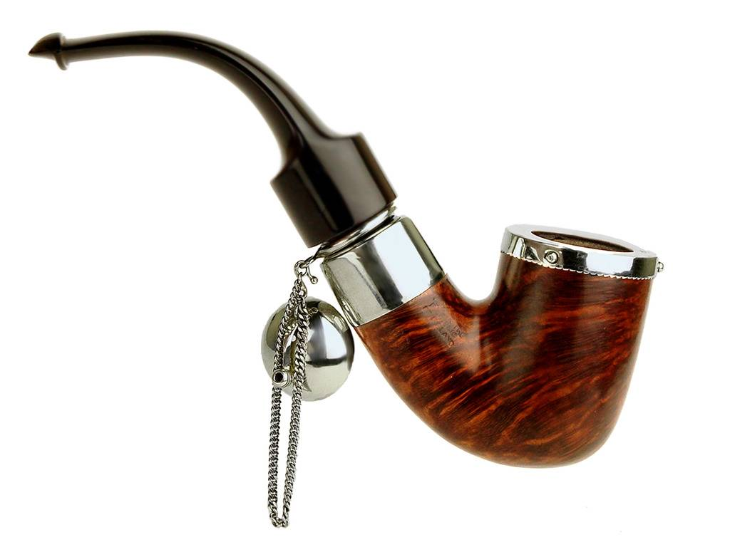 My personal pipes with custom hand made sterling silver. Peterson%20Bent%20Pot%20With%20Fancy%20Removeable%20Wind%20Cap%2002_zpskeiiqmo4