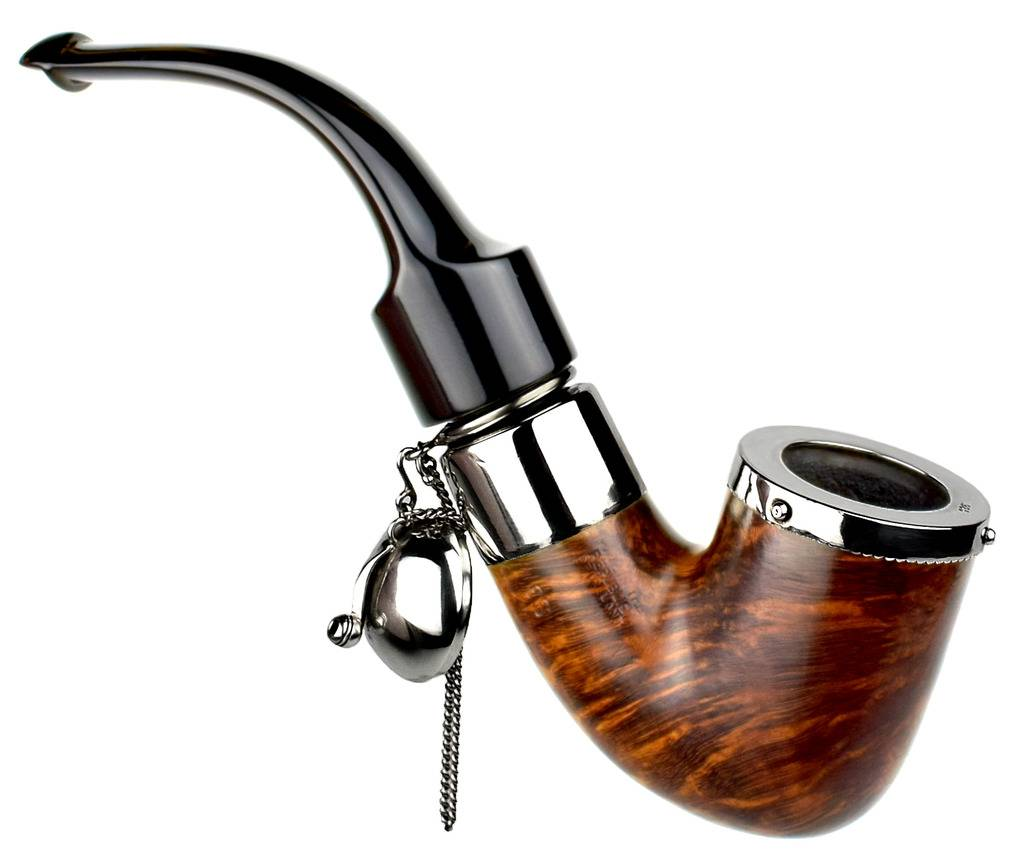 My personal pipes with custom hand made sterling silver. Peterson%20Deluxe%20Bent%20With%20Fancy%20Silver%20Wind%20Screen%20High%20Res.%2002_zpssfzmhgak