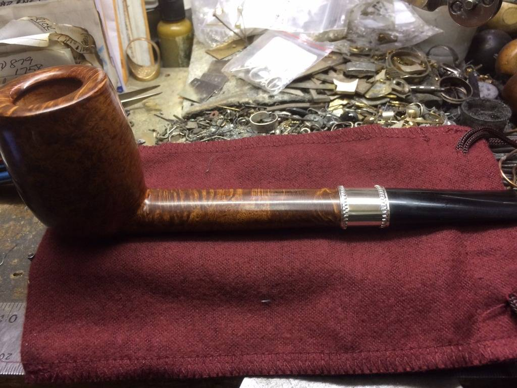 My personal pipes with custom hand made sterling silver. Wide%20Band%20for%20JJ%20Canadian%20Finished%2003_zpsckvwj740