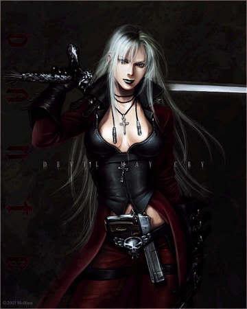 Sonja silverblade AnimeWarrioress
