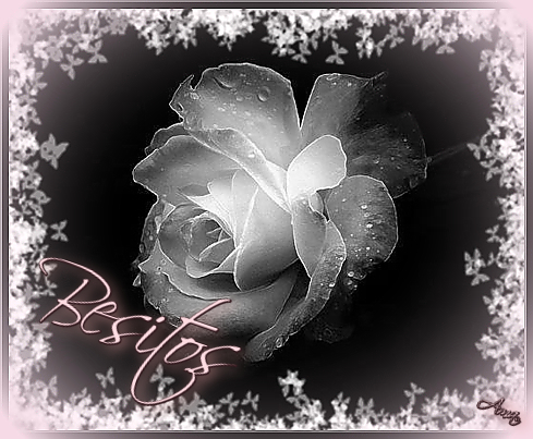 Rosa con Mascara Blanca y Sombra Rosada Besitos_zpszzm36m2o