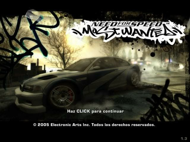 NEED FOR SPEED:  MOST WANTED NFSMW001