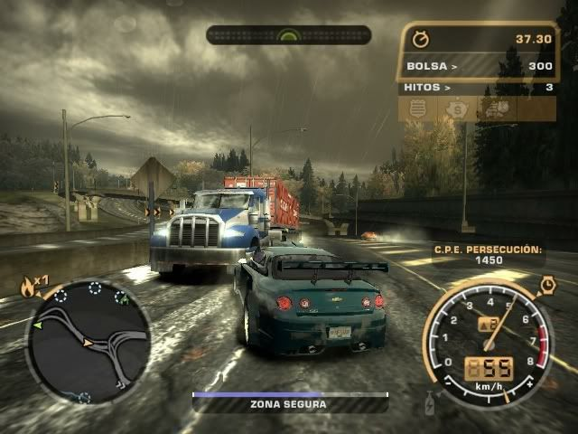 NEED FOR SPEED:  MOST WANTED NFSMW004