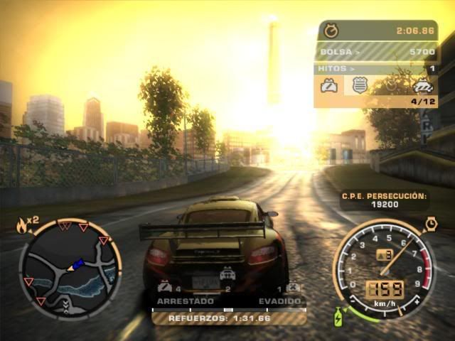 NEED FOR SPEED:  MOST WANTED NFSMW005-2