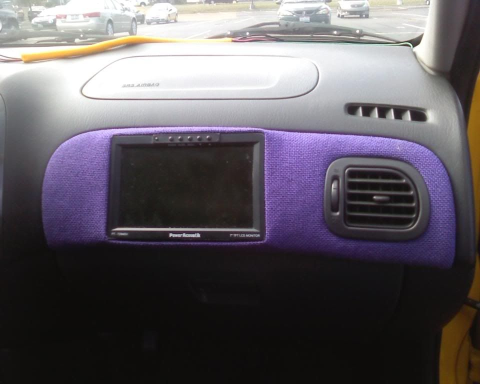 yellow pro5's pass tv install!!! IMG00185