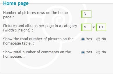 Cum se folosește Galeria Homepagegallery-1