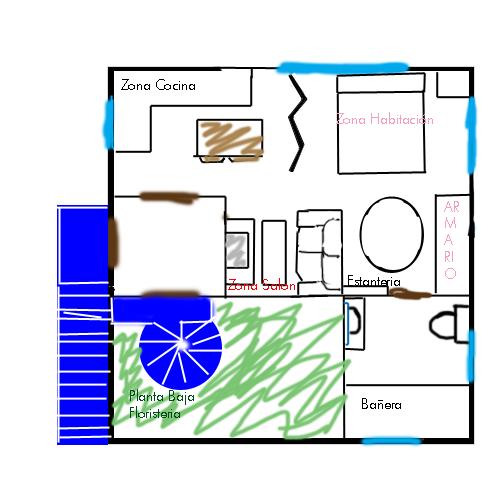 Casa de Aerith/ La Floristería del Distrito 2 LoftAerith