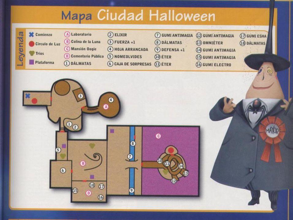 Mapas Ciudadhalloween
