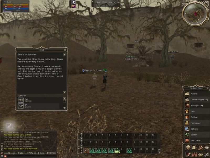 Quest ShillenKinght trial of the calling Quest-02-1