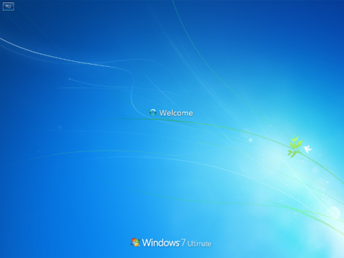 Windows 7 (OS Baru dari Microsoft) Windows-7-build-7057-welcome-screen