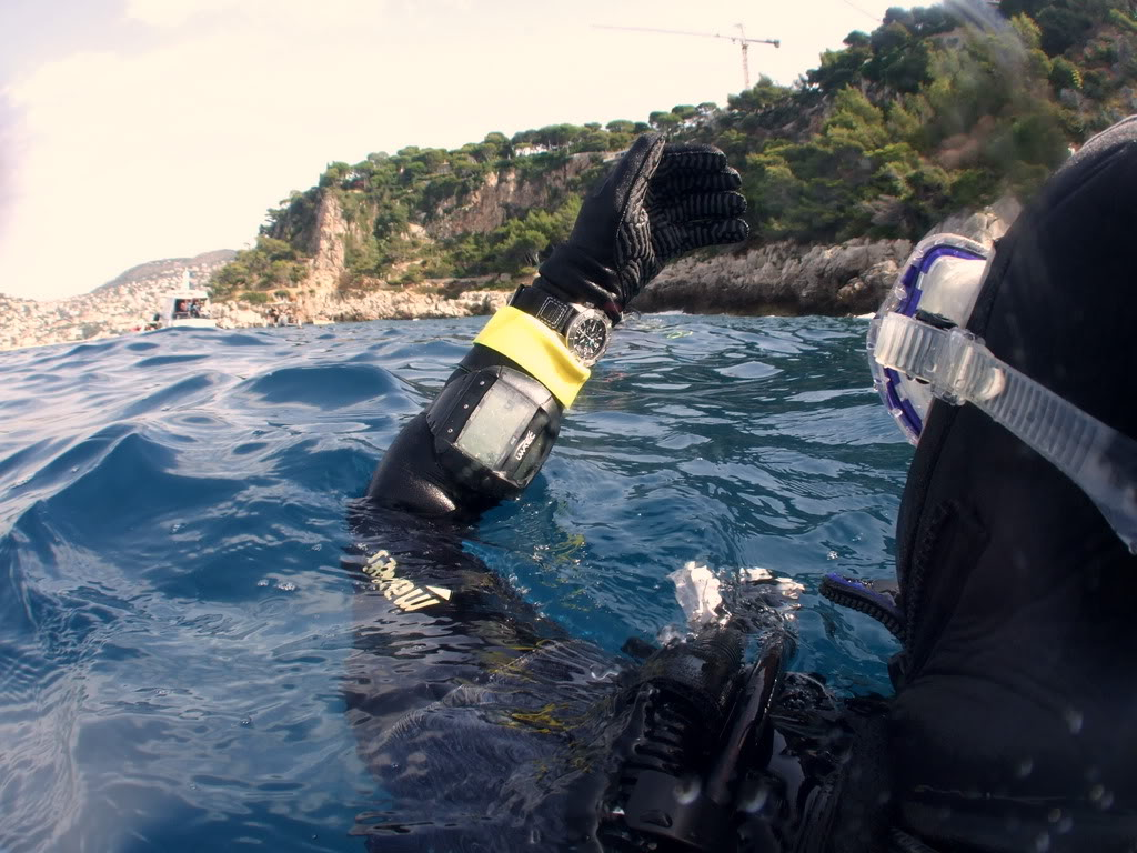 mission Test : JLC Master Compressor Diving Chrono en plongee profonde (part 2) DSCF3880