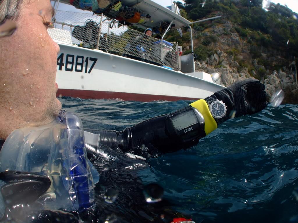 mission Test : JLC Master Compressor Diving Chrono en plongee profonde (part 2) DSCF3945