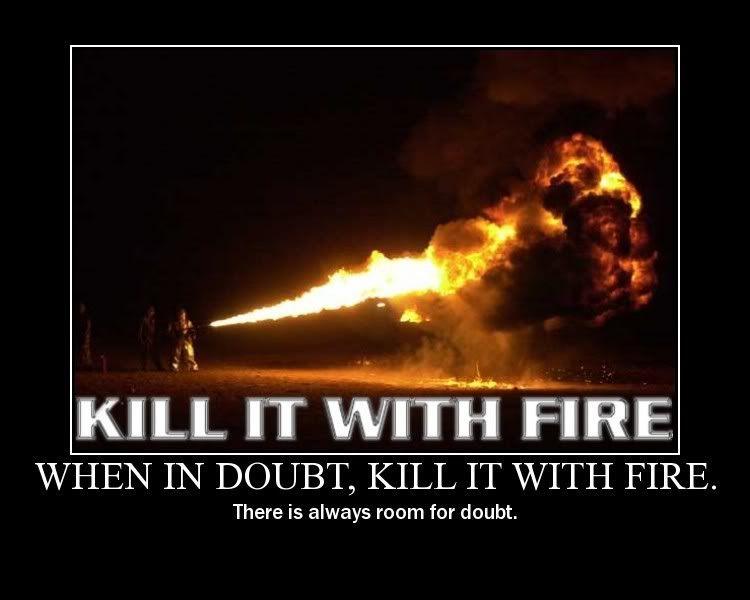 IT'S ALIVE!!!!!!!!!!!!!!!!!!!!!!!!!! Fire