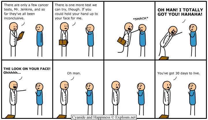 Funny Comics Pics Cancer-tests