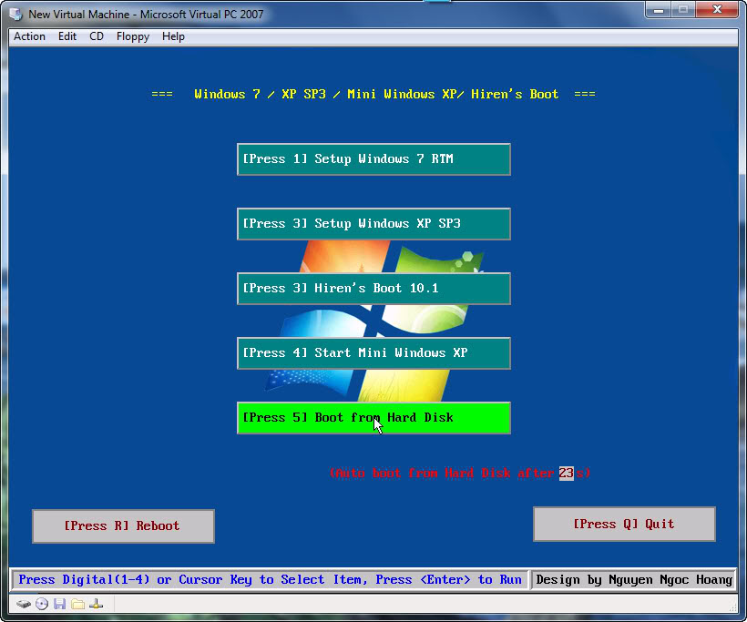 Tạo boot 3 trong 1 (Setup Windows 7, Setup Windows XP & Hiren's Boot) 12-30-20099-39-01PM