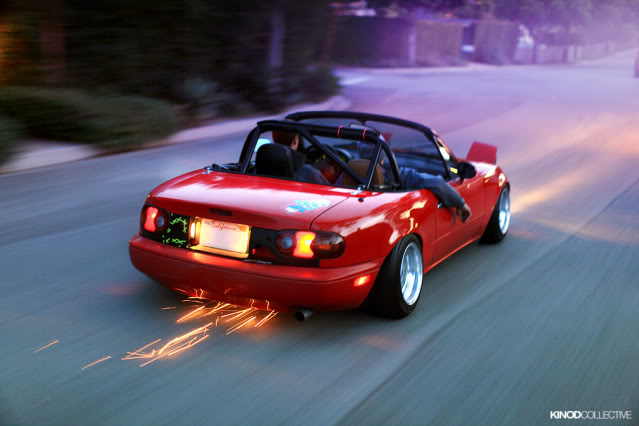 Picture of the day - Page 6 Sparkingmx5