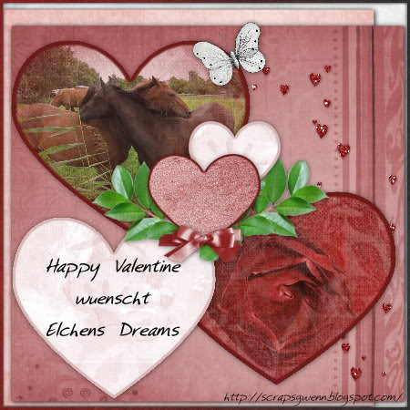 Elchens Dreams auf Besuch Valentine