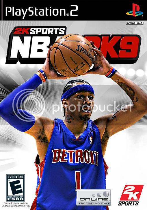 NBA 2k9 Custom Covers Ai2ps2