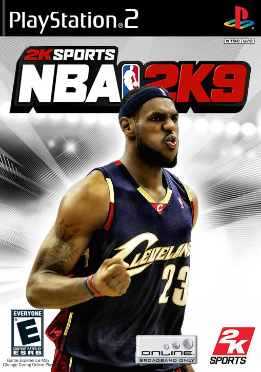 NBA 2k9 Custom Covers - Page 3 James4