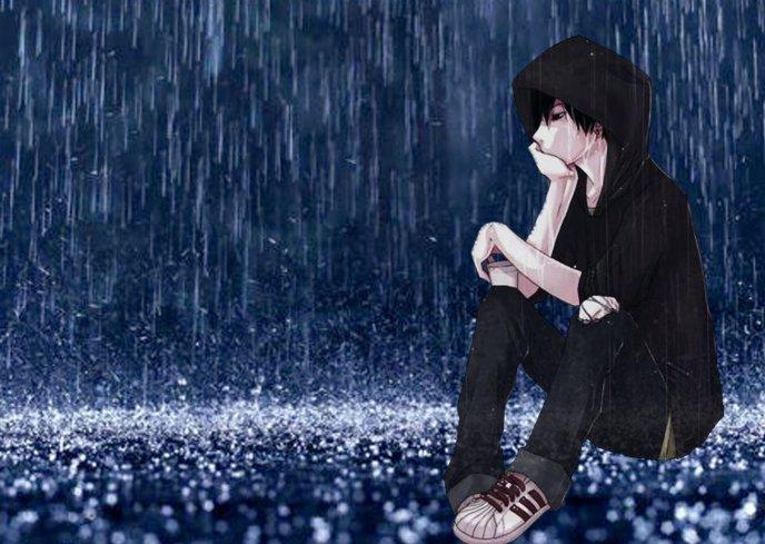 FOLK CALENDAR 3480_Anime-boy-sitting-in-the-rain-HD-wallpaper_zps4a7f7cfc
