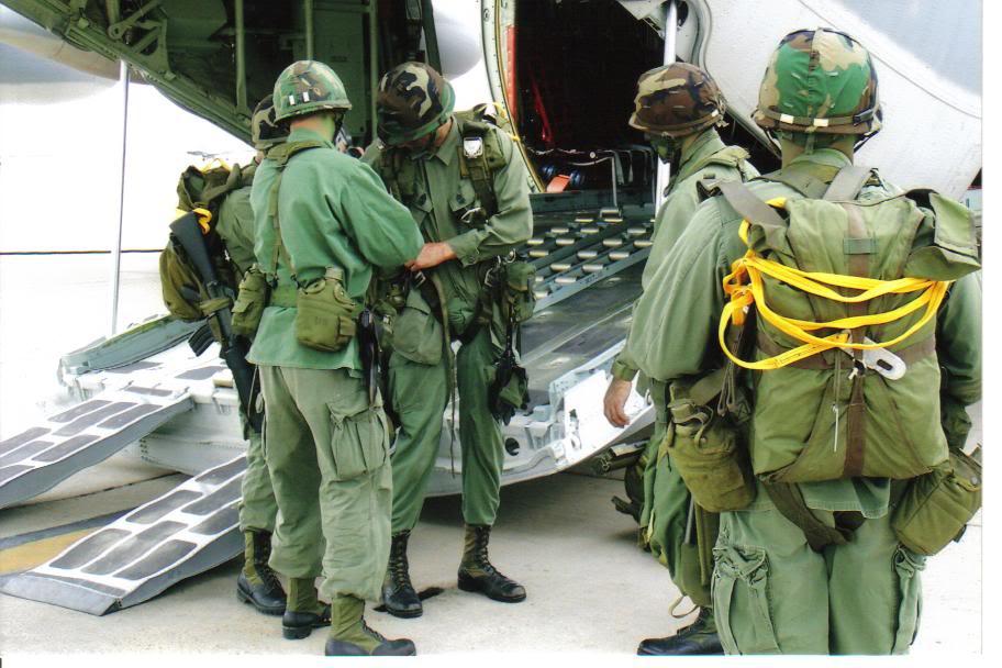 Operation Urgent Fury 1983 Grenada 2nd Batt. Ranger reenactment SpecialForcesftMac020-1