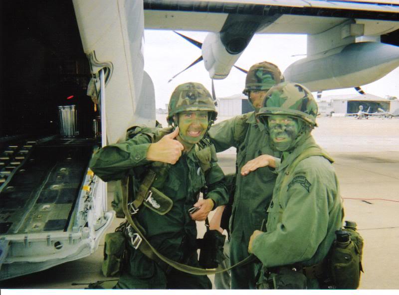 Operation Urgent Fury 1983 Grenada 2nd Batt. Ranger reenactment SpecialForcesftMac021-1