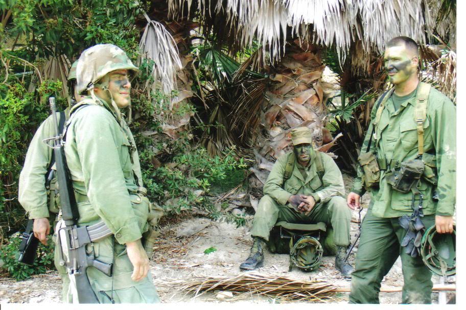 Operation Urgent Fury 1983 Grenada 2nd Batt. Ranger reenactment SpecialForcesftMac025
