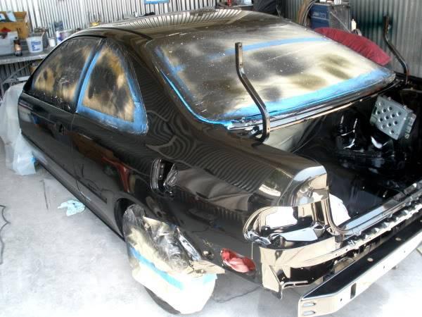 Paul's Black coupe. P5180771