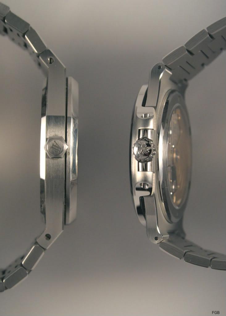 Quelques photos pour comparer la Nautilus 5711/1A et la Royal Oak 15300 IMG_4122mod