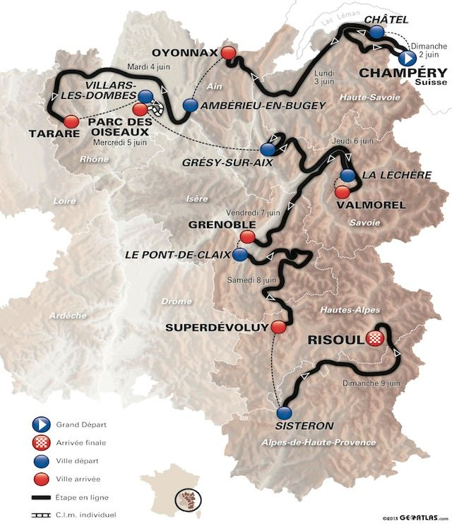 Critérium du Dauphiné Criterium-du-dauphine-2013-general-map_zpsbd47e679