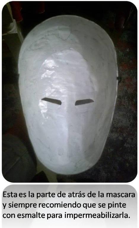 elaboracion de mascaras de papel Mascara4